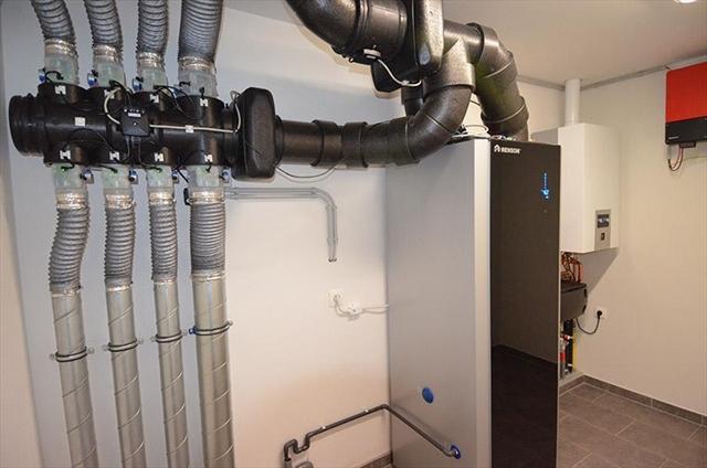 Warmterecuperatiesysteem met warmtepomp