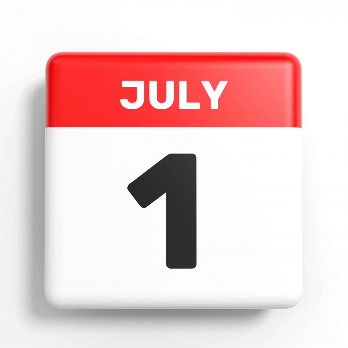 Terug open vanaf 1 juli!