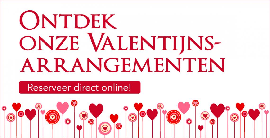 Ontdek onze Valentijn Arrangementen