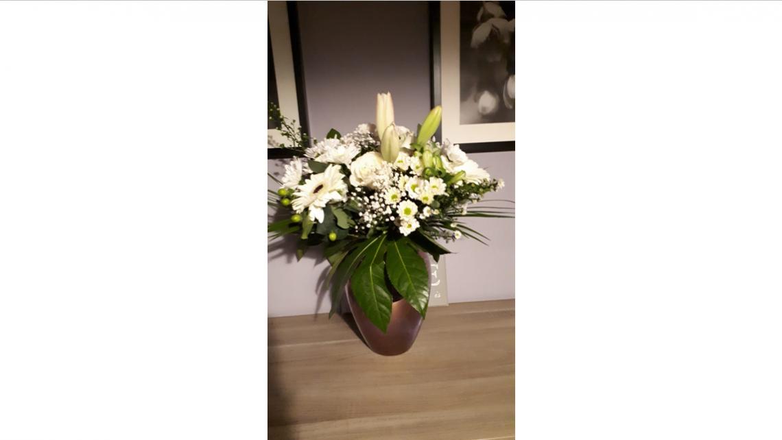 Een fleurig cadeau