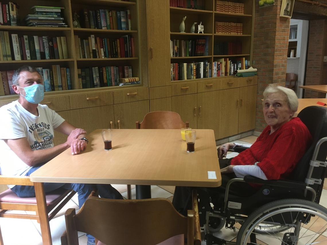 Bezoek tijdens de Week van de Senioren