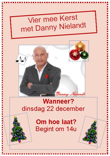 Kerstoptreden Danny Nielandt