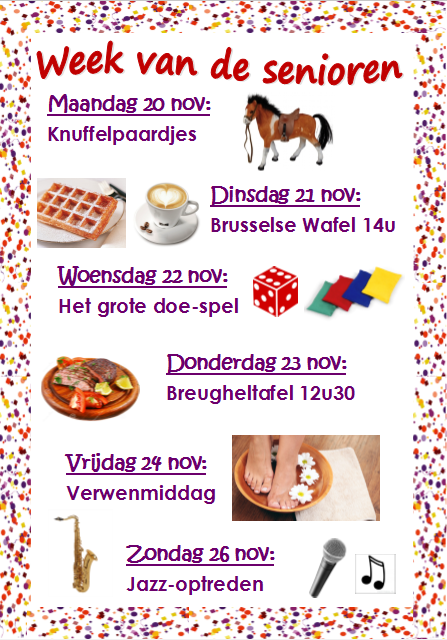 Week van de senioren: 20-26 november