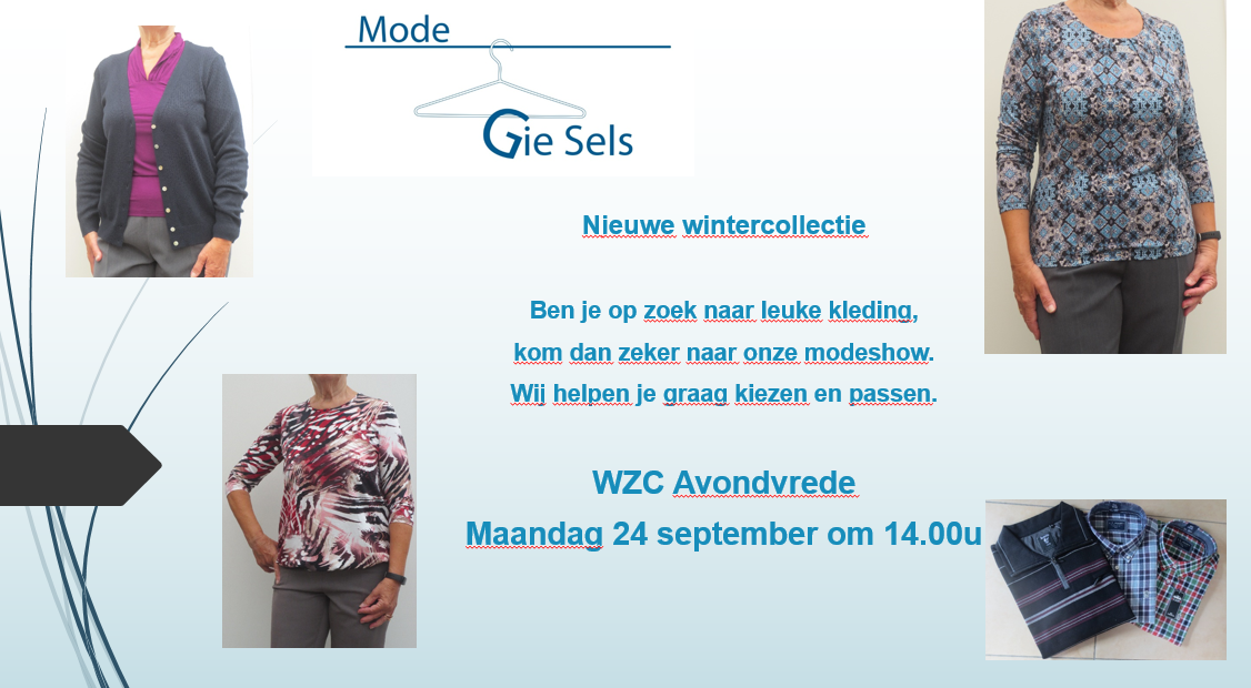 Modeshow 24 september