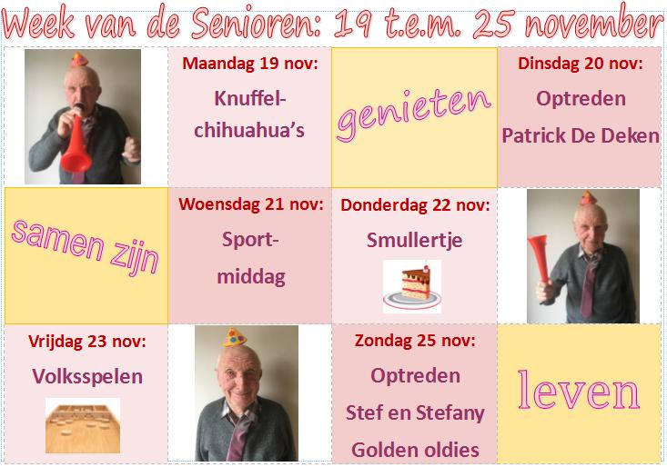 Week van de Senioren 2018