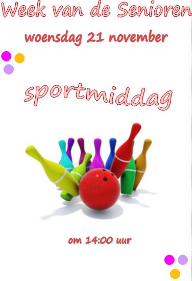 Wvds 21 nov - Sportmiddag