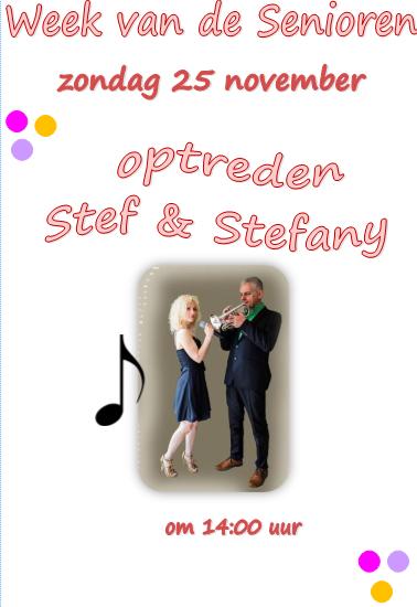 Wvds 25 nov - Optreden Stef & Stefany
