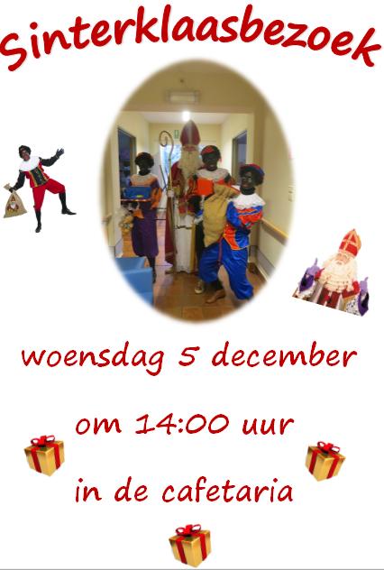 Sinterklaasbezoek 5 december