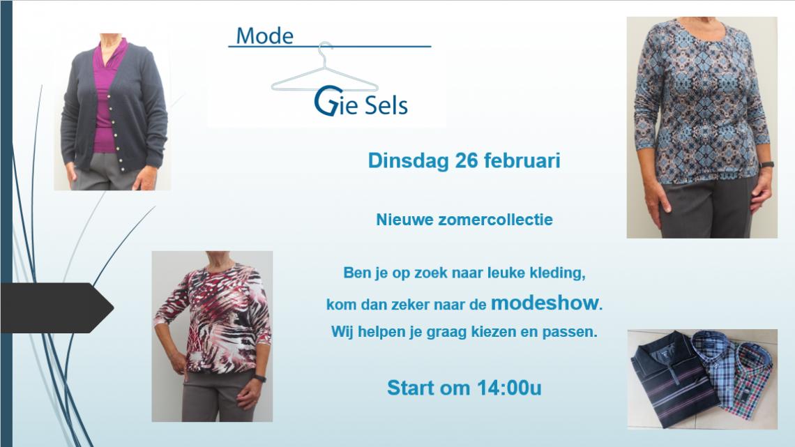 Modeshow 26 februari