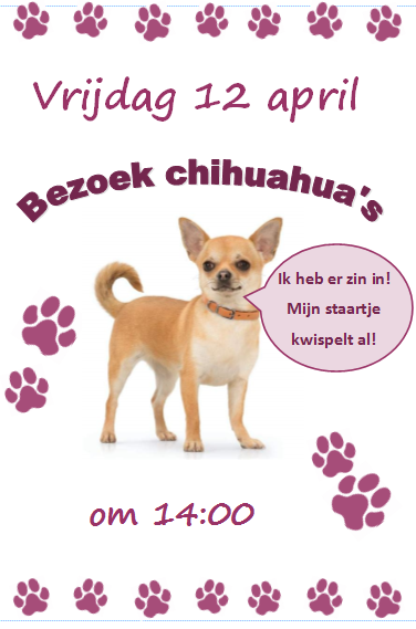Knuffelhonden 12 april
