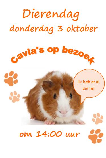 Werelddierendag 3 oktober