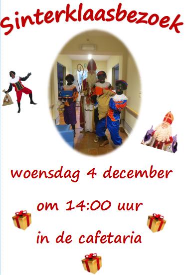 De Sint op bezoek 4 december