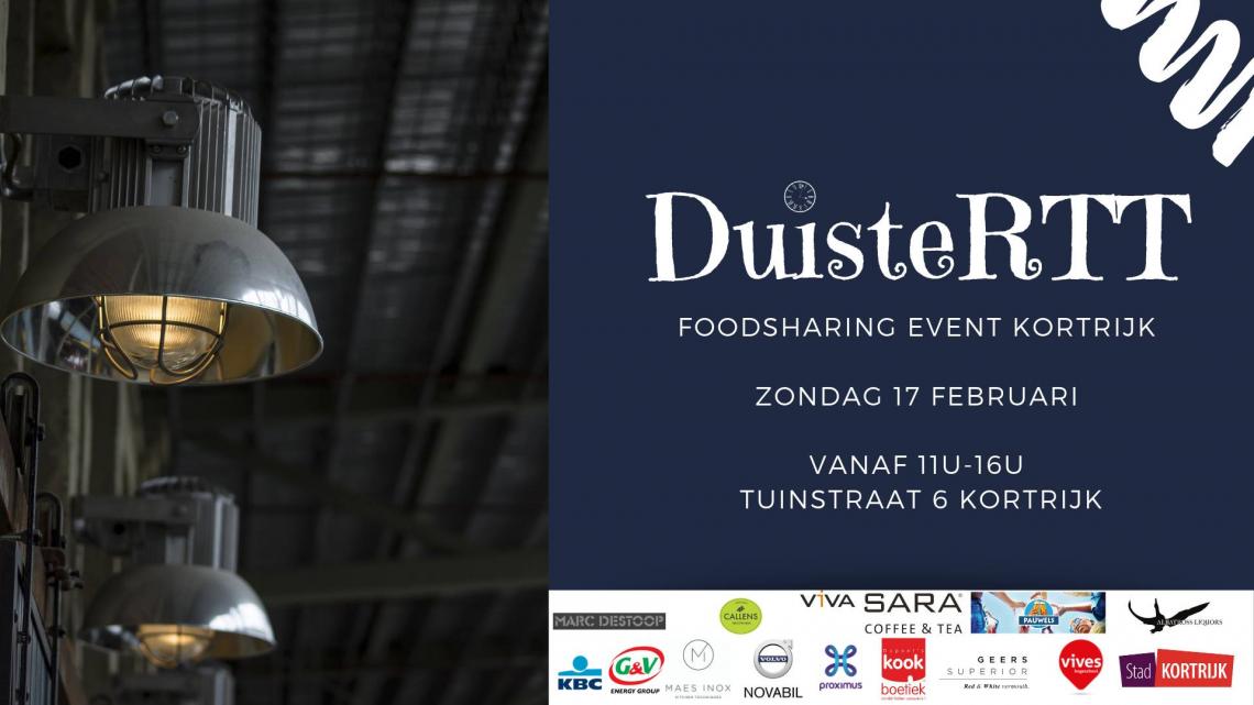 Café Paté organiseert op 17 februari 2019 DuisteRTT in Kortrijk