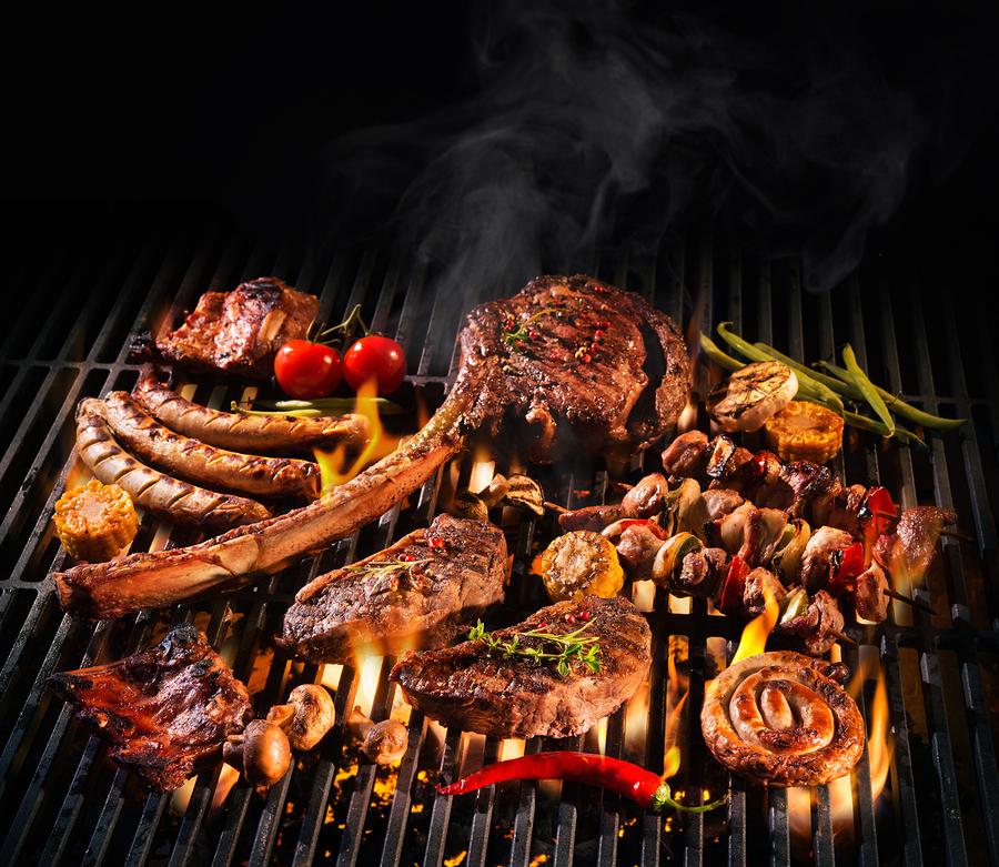 Barbecue seizoen van start met deze prachtige lentedagen !