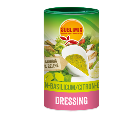 SALAD DRESSING CITROEN – BASILICUM