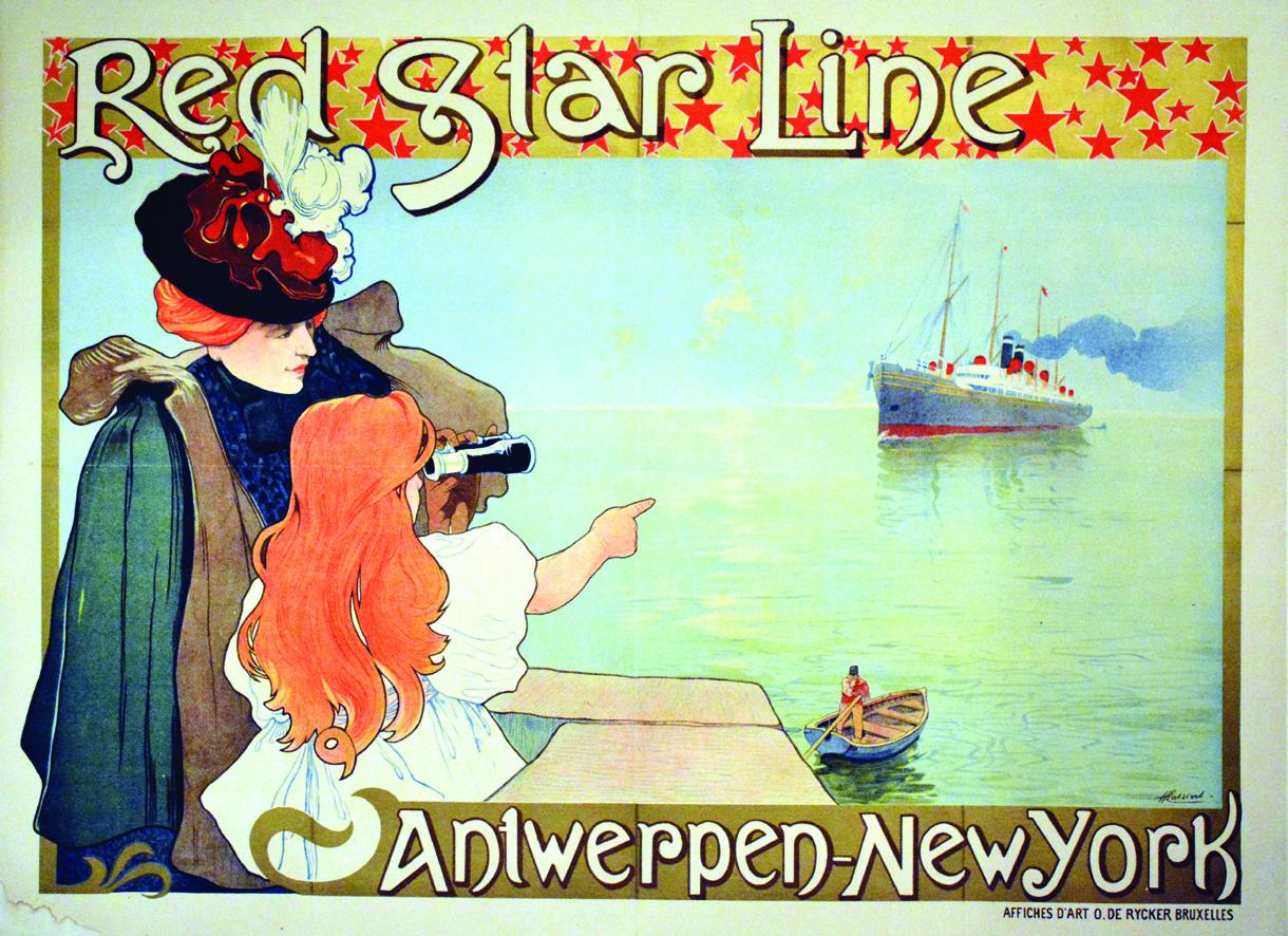Harry van Hest - Red Star Line - De scheepslijn naar het geluk, de rijkdom en vooral naar de Nieuwe Wereld.