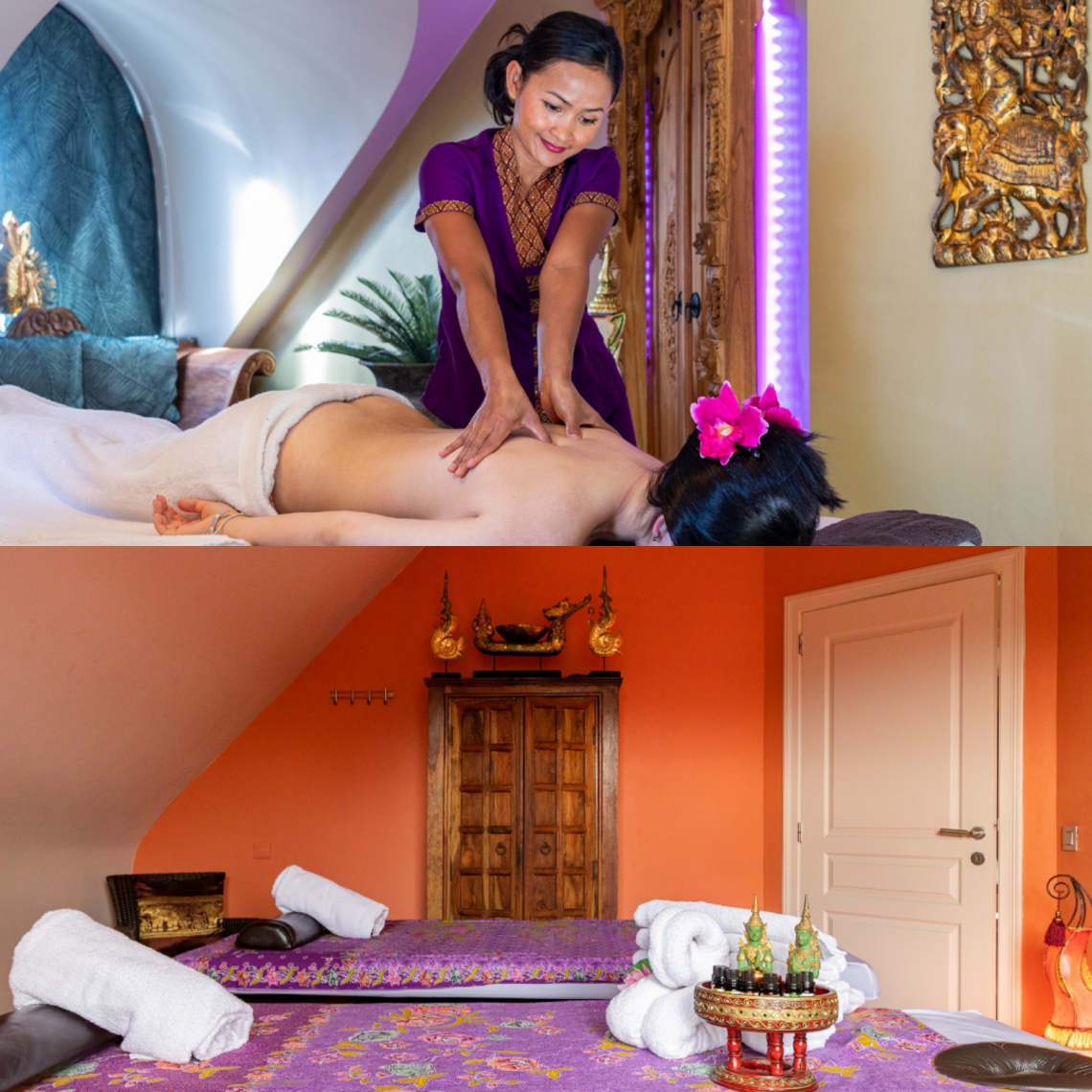 Discover our new massage rooms Ayurveda and Theravada