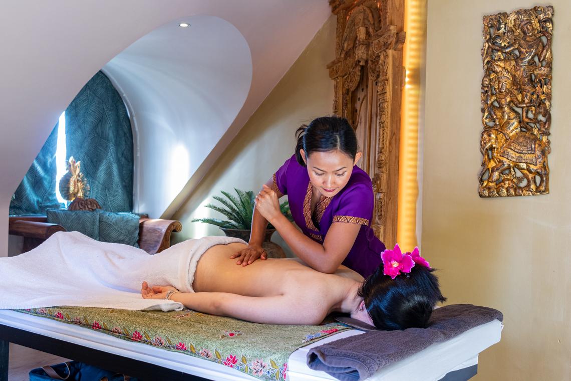 Ontdek onze nieuwe massage kamers Ayurveda en Theravada én ons mooi verruimd ontvangstsalon