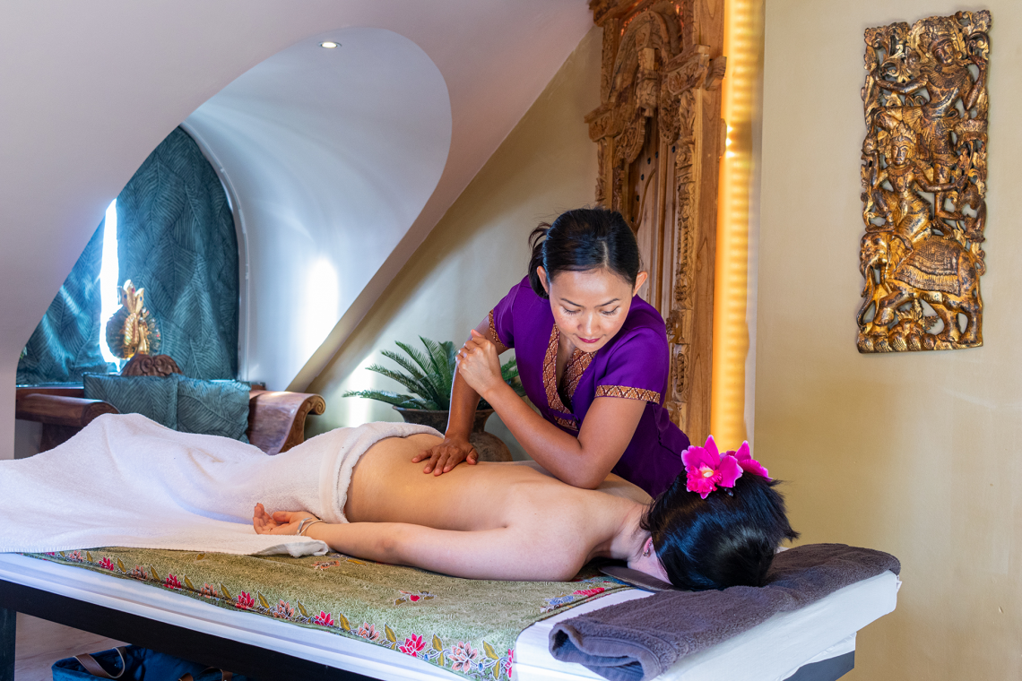 Discover our new massage rooms Ayurveda and Theravada ánd our beautifully extended reception room