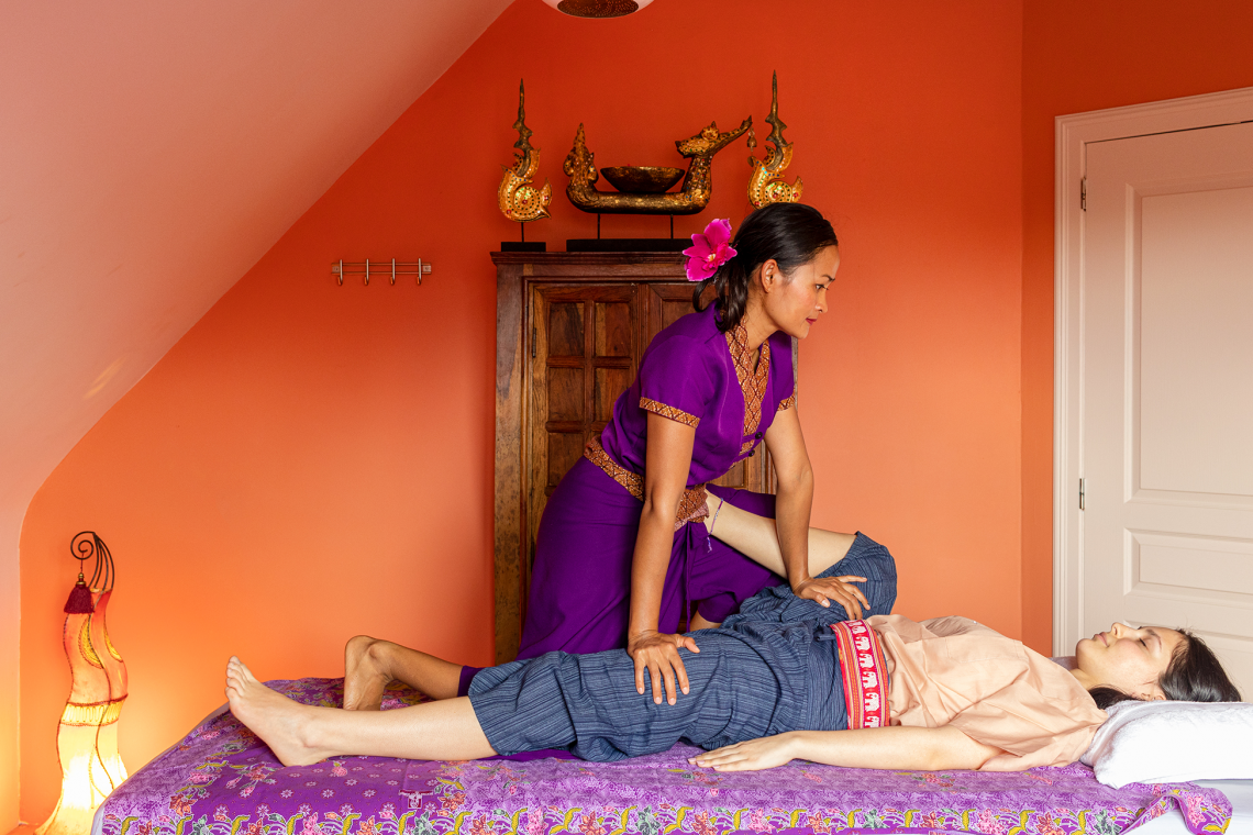 New : Infra red massage