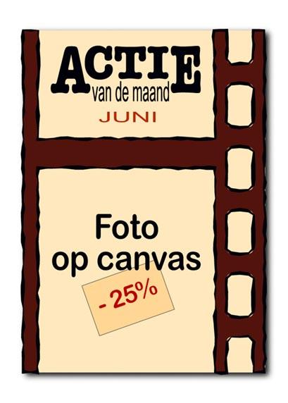 Actie van de maand juni