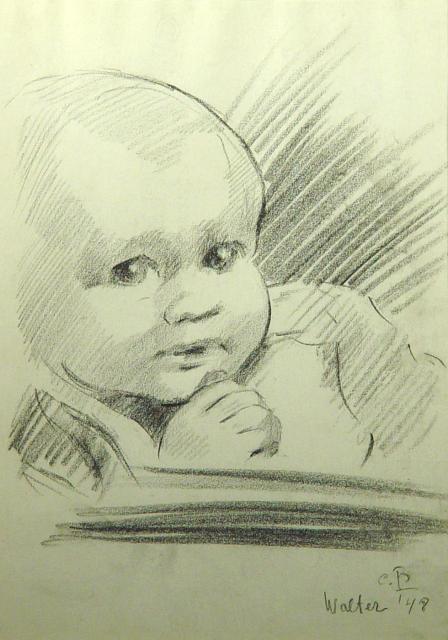 Stan Baele (kunstschilder) - Walter 1948