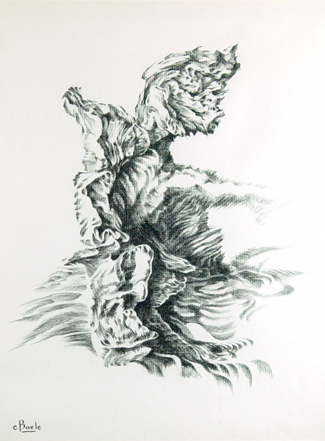Stan Baele (kunstschilder) - Kleine Faun