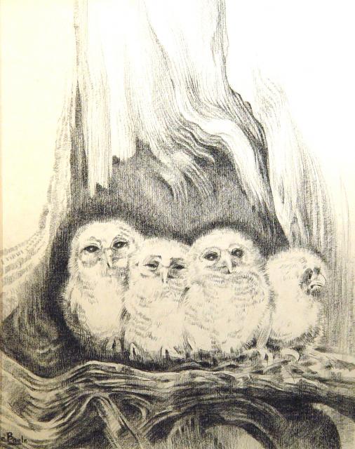 Stan Baele (kunstschilder) - Jonge Uiltjes