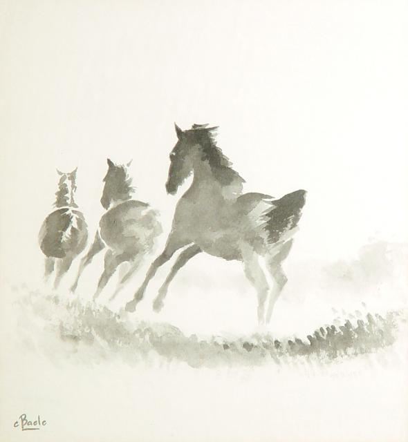 Stan Baele (kunstschilder) - Galop