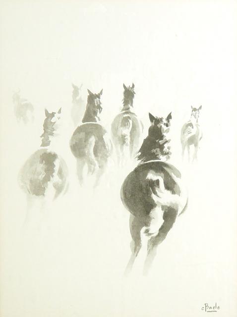 Paarden in de Morgen