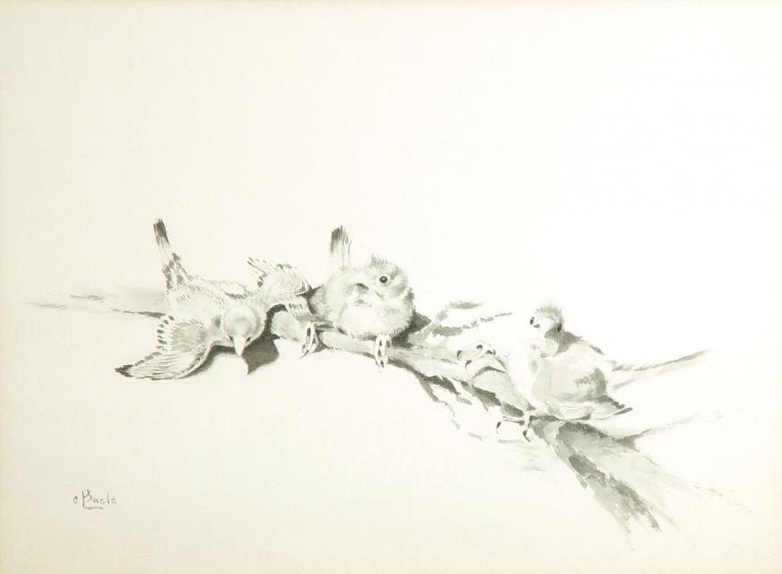Stan Baele (kunstschilder) - Nestverlaters