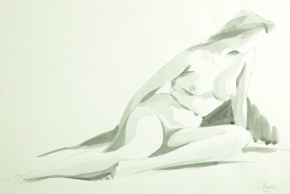 Stan Baele (kunstschilder) - Naakt