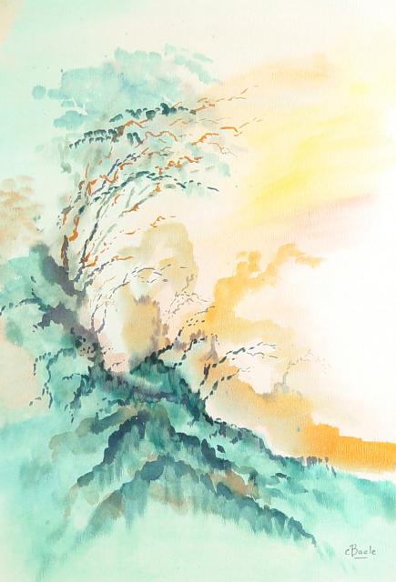 Stan Baele (kunstschilder) - Gouden Licht