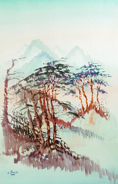 Stan Baele (kunstschilder) - Chinese Sparren
