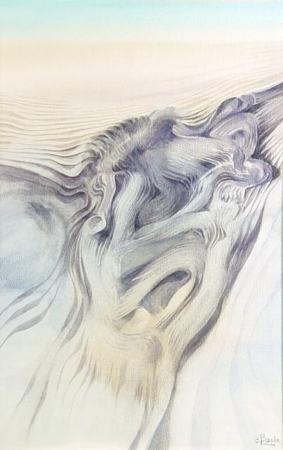 Stan Baele (kunstschilder) - Strandfossiel