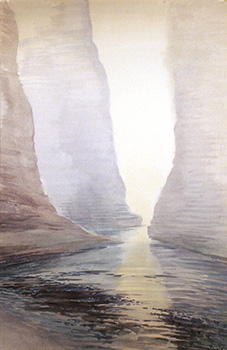 Stan Baele (kunstschilder) - Etretat