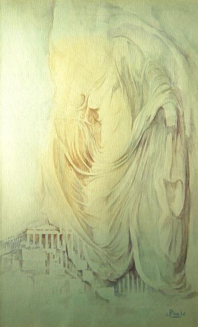 Stan Baele (kunstschilder) - Nike verlaat de Akropolis
