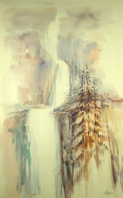 Stan Baele (kunstschilder) - Waterval