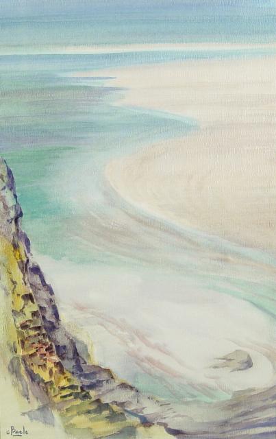 Stan Baele (kunstschilder) - Bretoense Kust