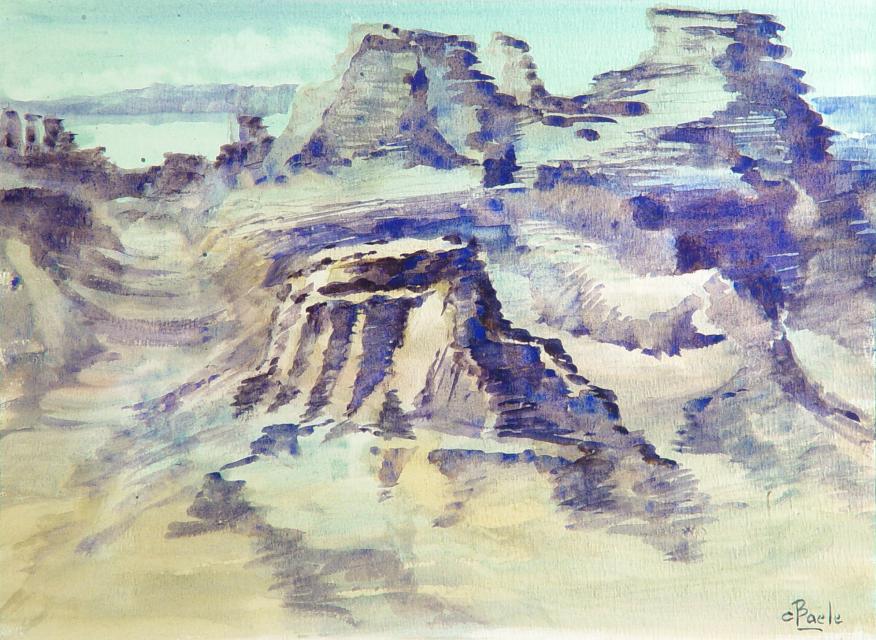 Stan Baele (kunstschilder) - Rotswoestijn