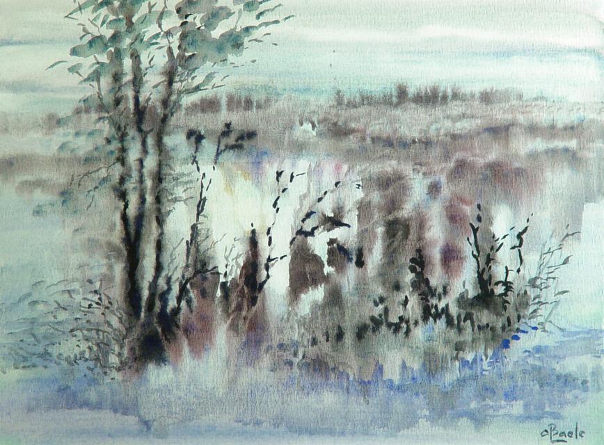 Stan Baele (kunstschilder) - Dode Zee