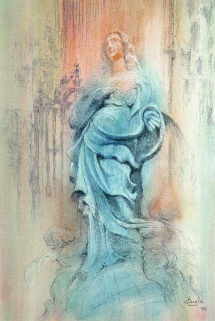 Blauwe Maagd