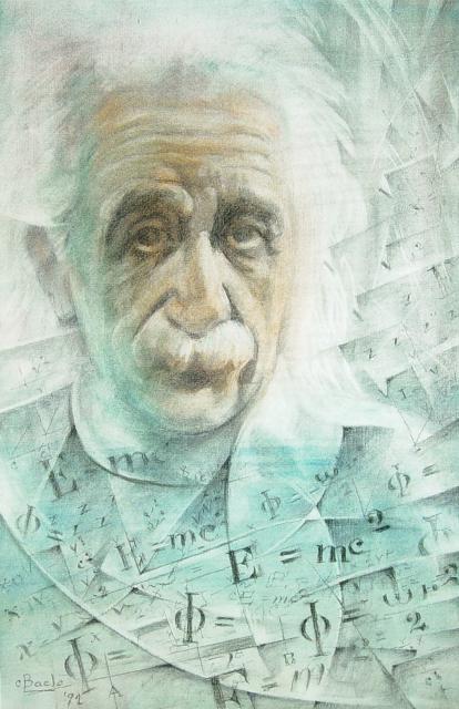 Stan Baele (kunstschilder) - Einstein