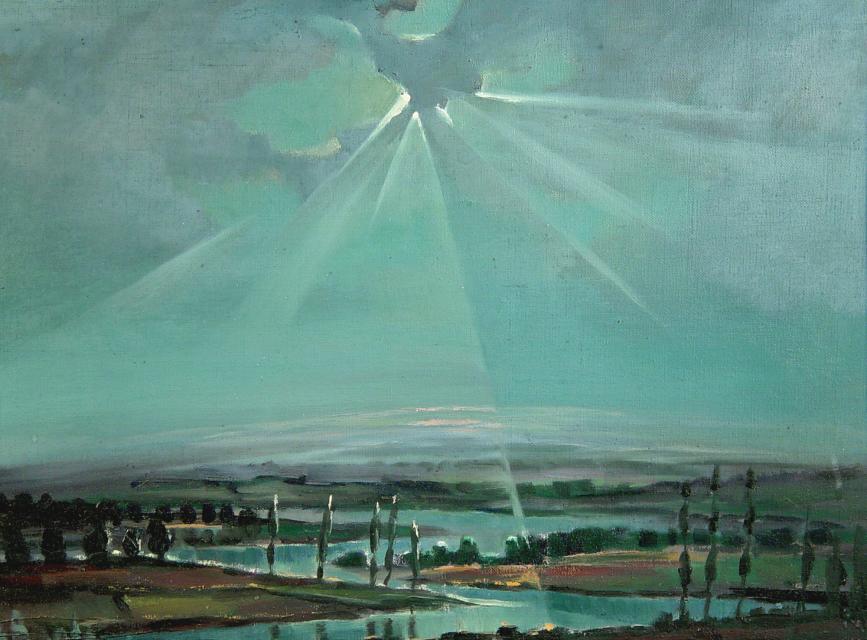 Stan Baele (kunstschilder) - Voorhistorisch Landschap