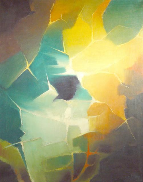 Stan Baele (kunstschilder) - Kosmisch Vuur