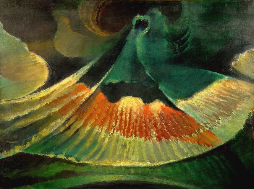 Stan Baele (kunstschilder) - Kosmische Wiekslag