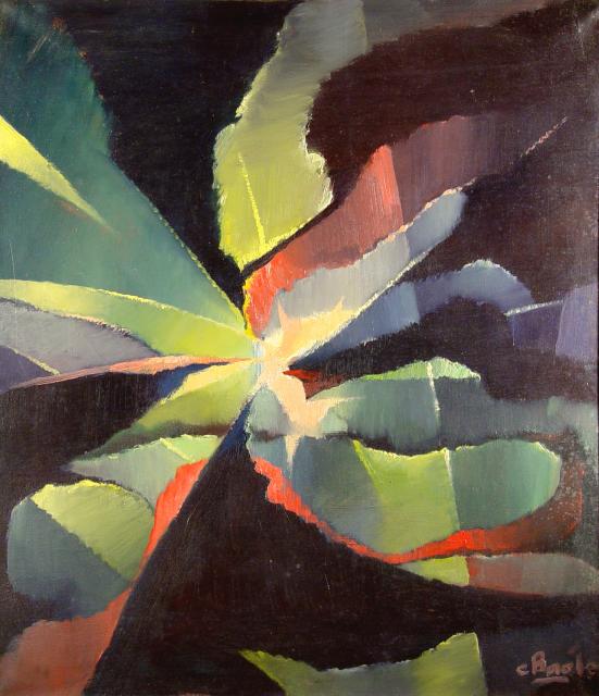 Stan Baele (kunstschilder) - Zonnesplitsing