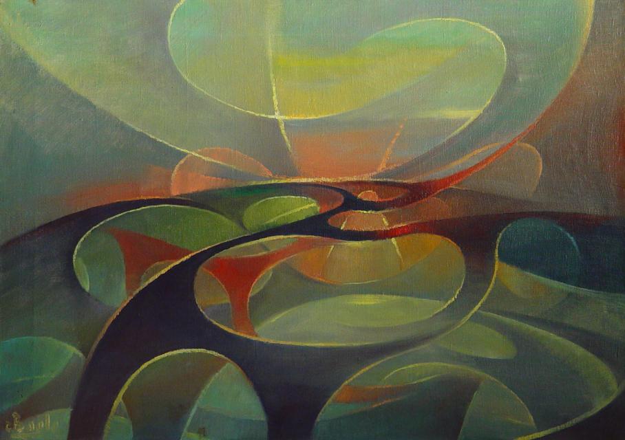 Stan Baele (kunstschilder) - Arabesken