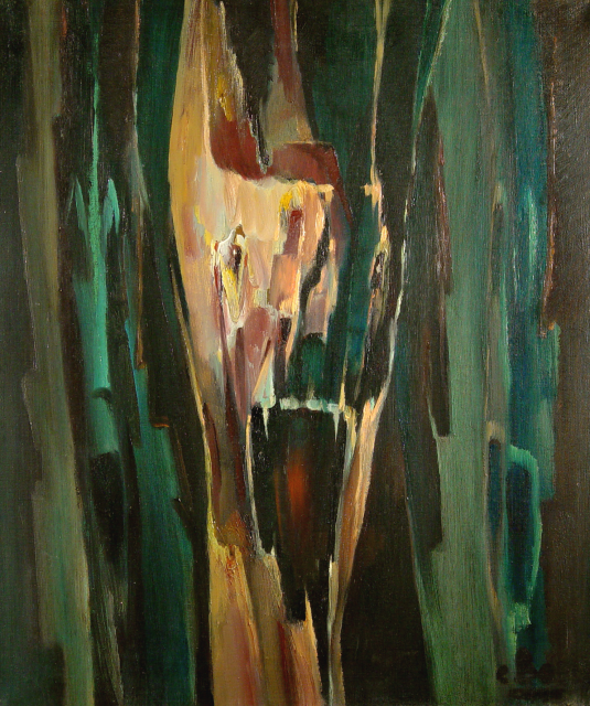 Stan Baele (kunstschilder) - Kronos ( Saturnus )
