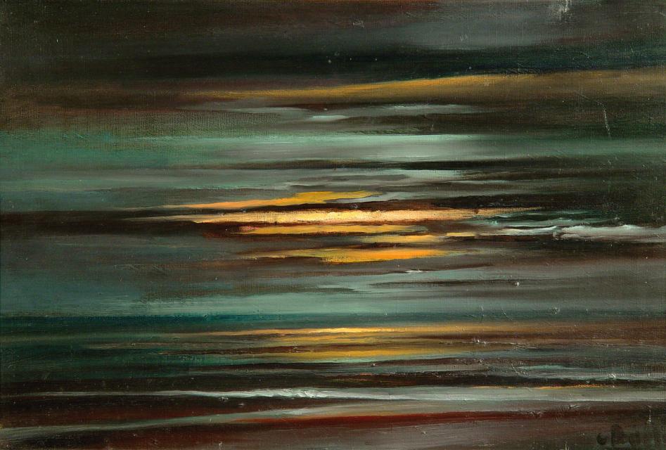 Stan Baele (kunstschilder) - Gotisch (Zee)